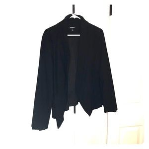 Torrid Black Blazer, lined
